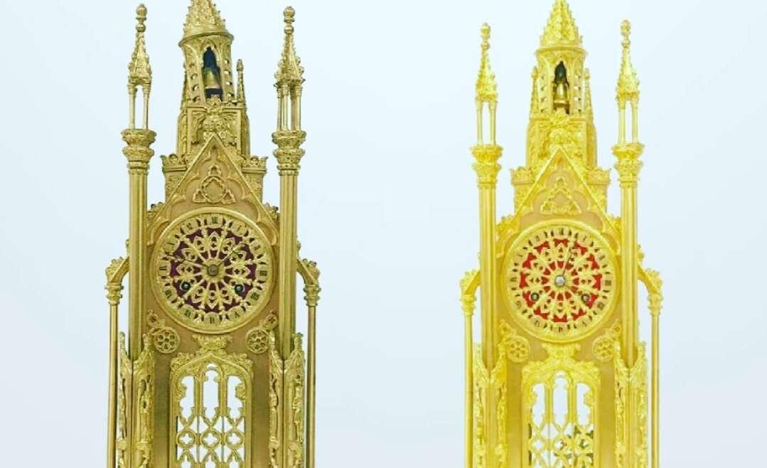 Clock case restorations